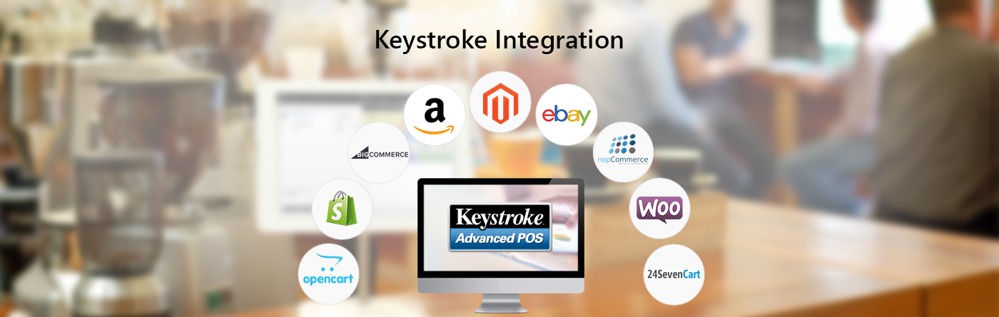 Keystroke POS Integration with eCommerce Shopping Carts