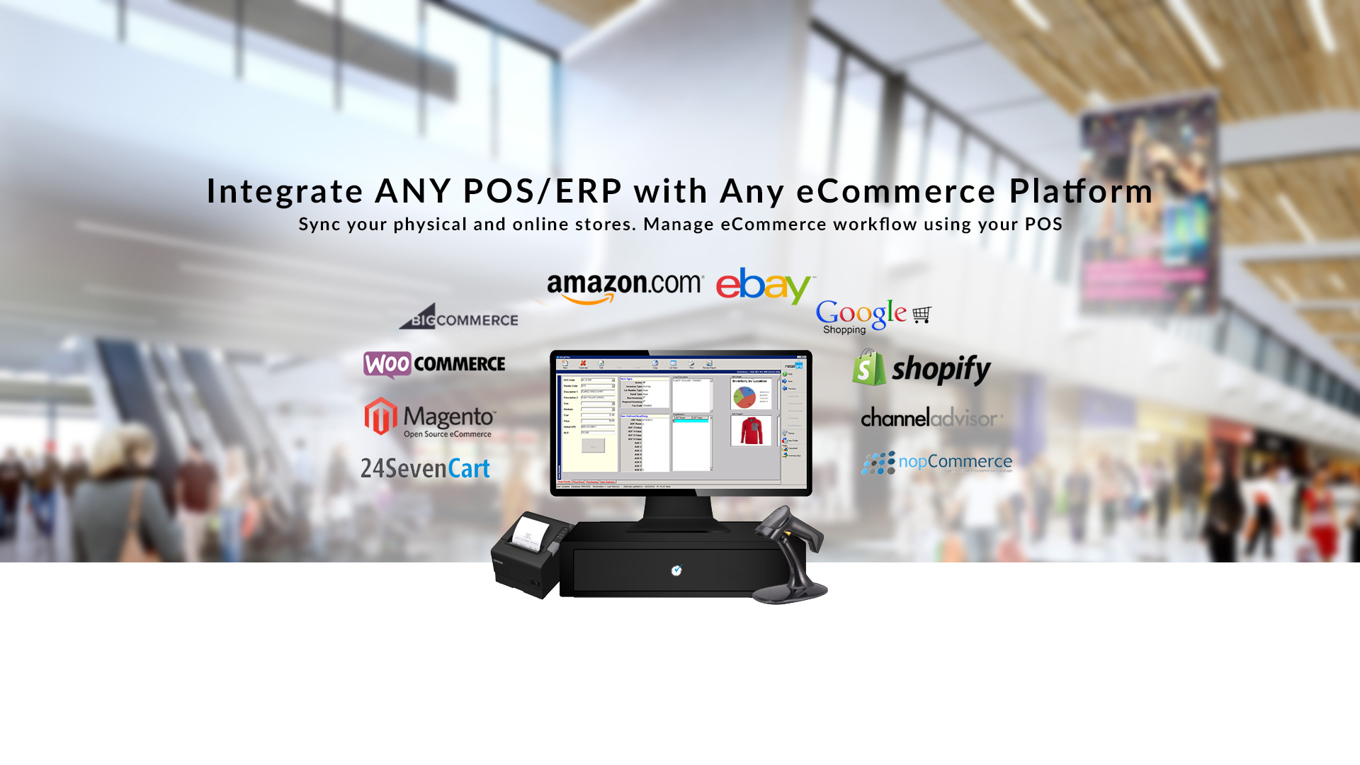 Integrate Any POS with Any Ecommerce