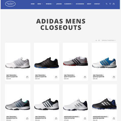 Golf Shoes America Using Octopus Integration for Retail Pro Magento