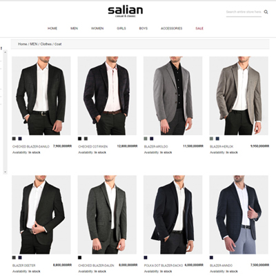 Salian - Integration with Retail Pro Magento