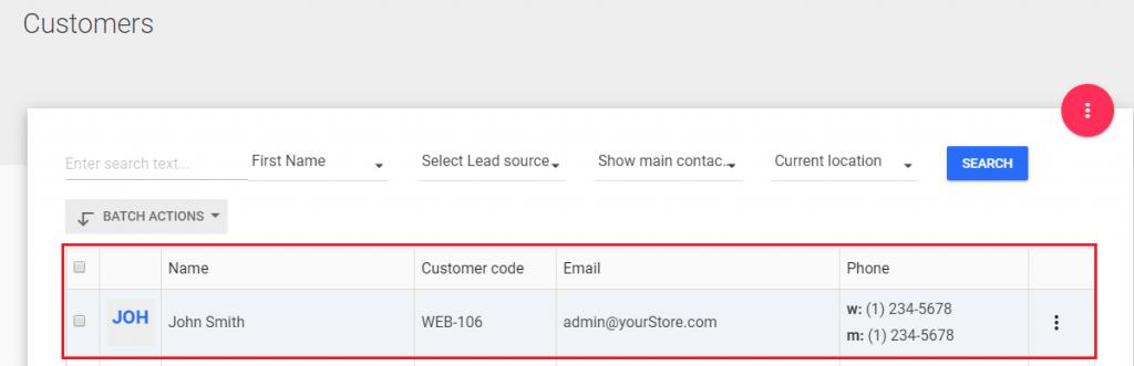 Download Web Order information to Fran-POS