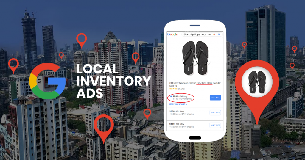 Local Inventory Ads for increase instore visits